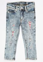GUESS - Starlet Skinny Jeans Pale Blue