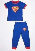 POP CANDY - Superman Pj Set Mid Blue