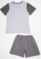 Rebel Republic - Pyjama Set Grey
