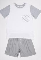 Rebel Republic - Pyjama Set White