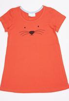See-Saw - T-Shirt Night Dress Orange