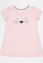 See-Saw - T-Shirt Night Dress Pale Pink