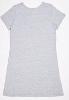 Rebel Republic - T-Shirt Night Dress Grey