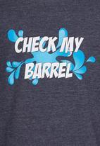 Rip Curl - Check My Barrel  Tee Mid Blue