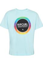 Rip Curl - Authentic Circle  Tee Pale Blue