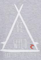 Rip Curl - Be Wild Tee Grey