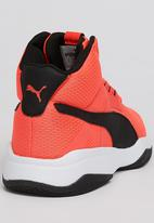 PUMA - Boys Sneaker Red