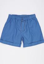 Rebel Republic - Twill Shorts Blue