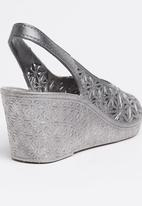 Candy's - Jelly Wedge Silver