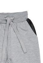 Retro Fire - Fleece Jogger Grey