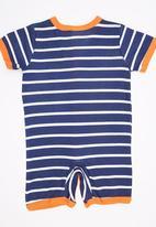 POP CANDY - Short Sleeve Stripe  Bodysuit Multi-colour