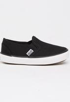 SOVIET - Slip On Sneaker Black