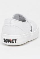 SOVIET - Slip On Sneaker White