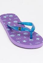 World Tribe - Coco  Flip Flops Mid Purple