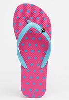 World Tribe - I Spy  Flip Flops Mid Pink