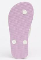 World Tribe - Little Treasure  Flip Flops Pale Purple
