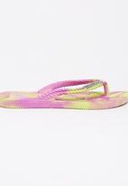 Billabong  - Kicks Marble Thong Multi-colour