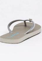 World Tribe - Little Treasure  Flip Flops Silver