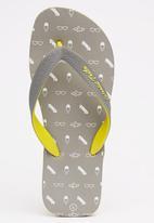 World Tribe - Firefly   Flip Flops Grey