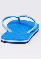 World Tribe - Safari  Flip Flops Blue