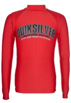 Quiksilver - Lifebouy  Boys Rashvest Red