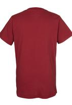 Quiksilver - All In Boys Tee Red