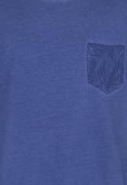 Soobe - Boys Tee With Pocket Detail  Dark Blue