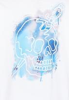 Billabong  - Stencil SS  Tee White
