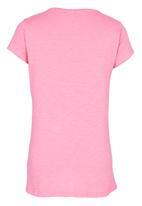 Soobe - Printed  Tee Mid Pink