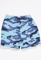 Soobe - Boys Printed Shorts Mid Blue