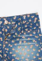 POP CANDY - Printed Shorts Blue