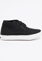 SOVIET - Utah High Top Sneaker Black