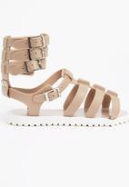Jelly Jane - Gladiator Sandal Stone