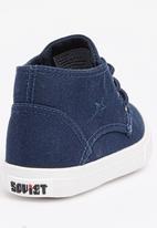 SOVIET - Utah High Top Sneaker Navy