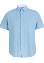 JCrew - Short Sleeve linen Shirt Blue