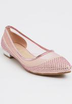 Footwork - Ballerina Pumps Mid Pink