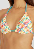 Winmax - Padded Triangle Top with Side-Tie Bottoms Multi-colour
