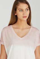 Billabong  - Sun Swell Tee Pale Pink