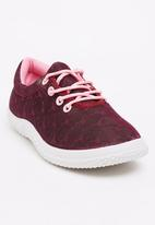Candy's - Glitter Sneaker Mid Pink