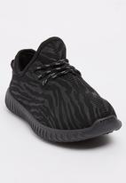 Awol - Boys Lace Up Sneaker Black
