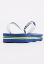 Havaianas - Brazil Logo Flip Flops Mid Blue