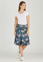 Sway - Traveller Skirt Black and Blue