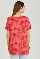 Sway - Summer Tonic Tee Red