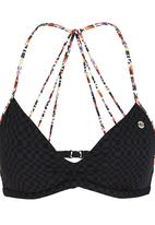 Banana Moon - Triangle Flinders Trio Bikini Top Black