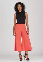 STYLE REPUBLIC - 3/4 Wide Leg Pant Orange