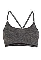 ONLY Play - Lucile Thin Strap Seamless Sports Bra Black