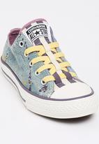 Converse - Loopholes Denim Splatter Slip  Sneaker Pale Purple