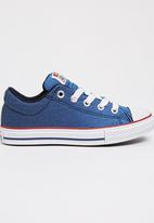 Converse - Chuck Taylor Street Sunwash  Slip   Sneaker Blue