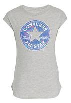 Converse - Dropped Shoulder Tee Grey