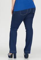 STYLE REPUBLIC PLUS - Bootleg Jeans Blue